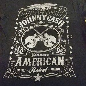 Tops - 2/$20 Johnny Cash small t-shirt